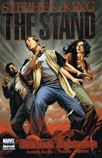 STEPHEN KING THE STAND AMERICAN NIGHTMARES #1  NM