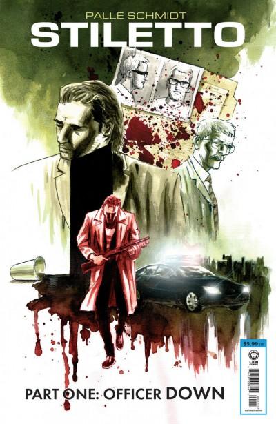 Stiletto (2019) #1 VF/NM Palle Schmidt Cover and Art Image Comics