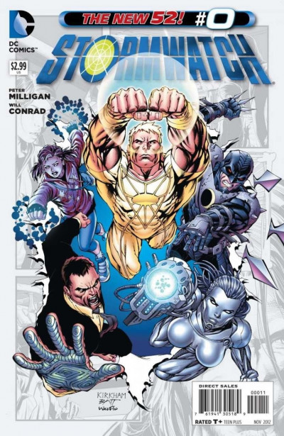 STORMWATCH #0 VF/NM THE NEW 52!