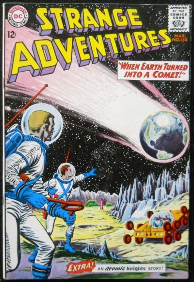 STRANGE ADVENTURES #150 VF+ GREYTONE COVER