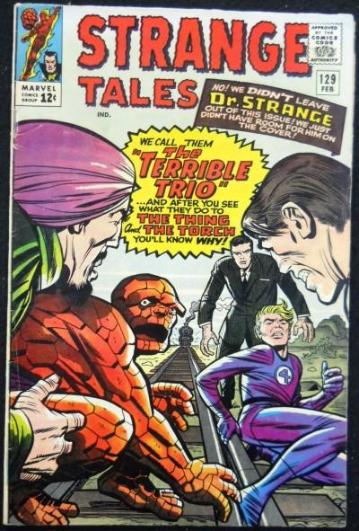 STRANGE TALES #129 FN+