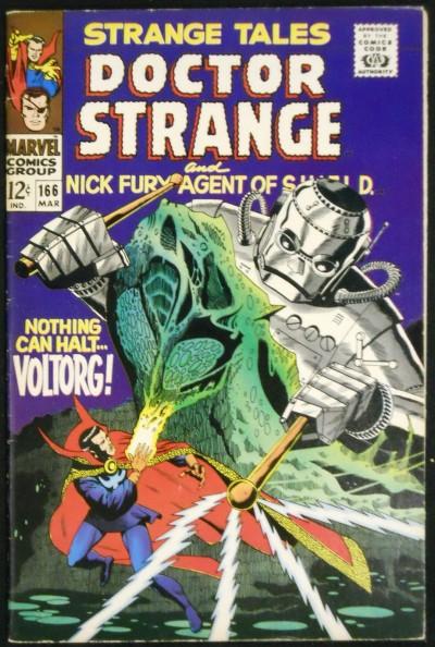STRANGE TALES #166 FN/VF NICK FURY DR. STRANGE STERANKO