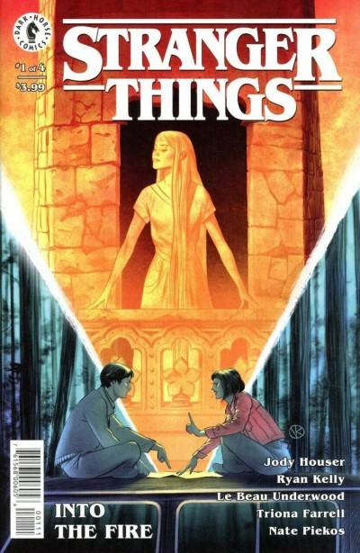 Stranger Things: Into the Fire (2019) #1 of 4 VF/NM Dark Horse Comics