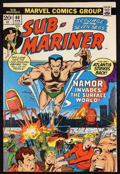 Sub-Mariner (1968) #60 FN+ (6.5)