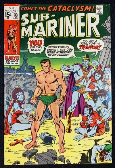Sub-Mariner (1968) #33 FN+ (6.5)
