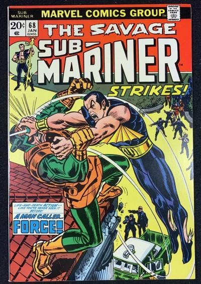 Sub-Mariner (1968) #68 VF (8.0)