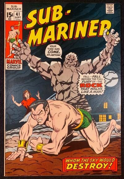 Sub-Mariner (1968) #41 VF/NM (9.0)