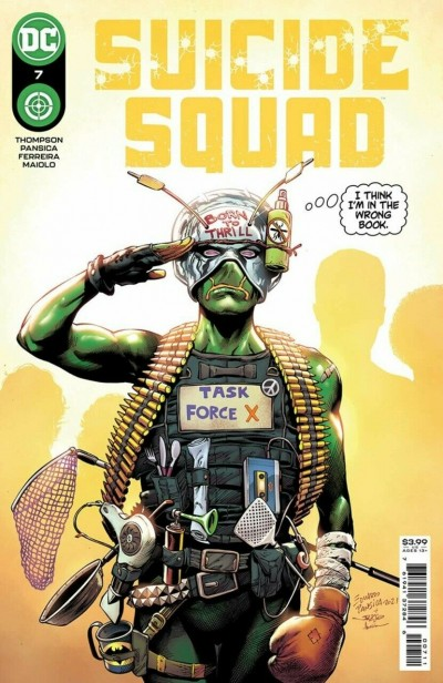 Suicide Squad (2021) #7 VF/NM Eduardo Pansica Cover