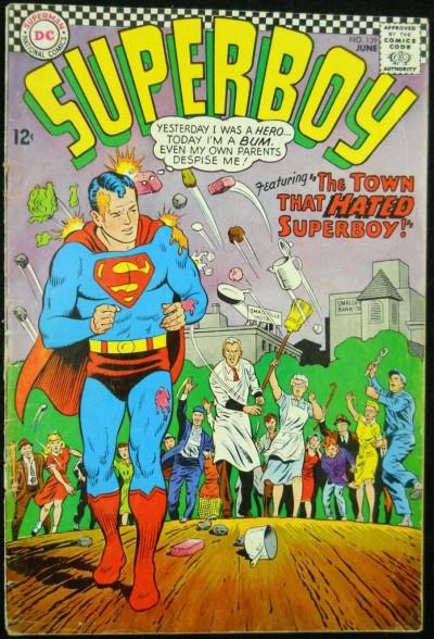 SUPERBOY #139 VG-