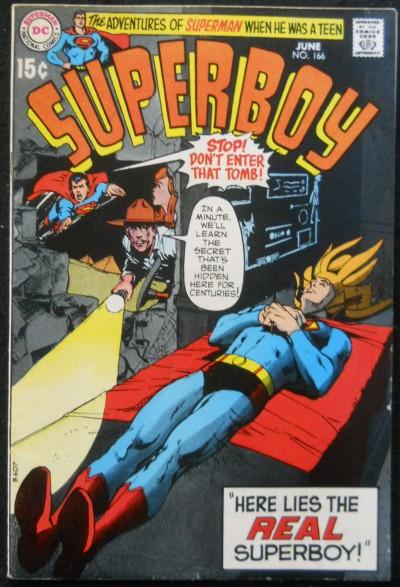 SUPERBOY #166 FN