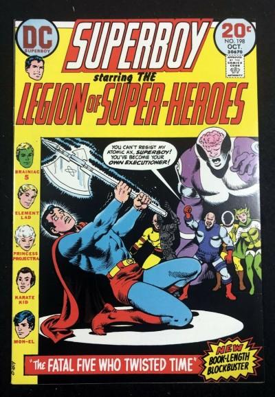 Superboy (1949) #198 VF (8.0) starring Legion of Super-Heroes