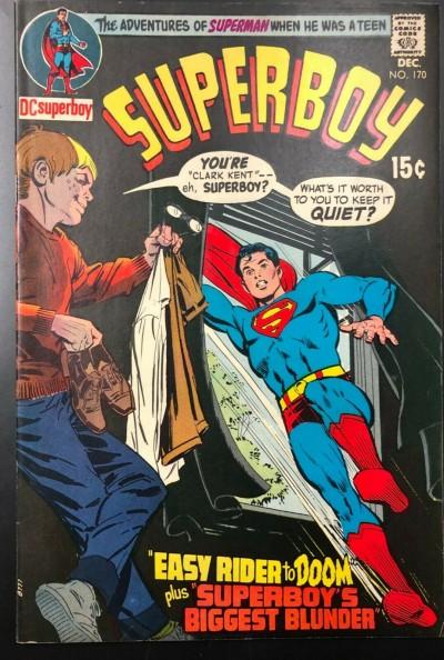Superboy (1949) #170 FN+ (6.5)