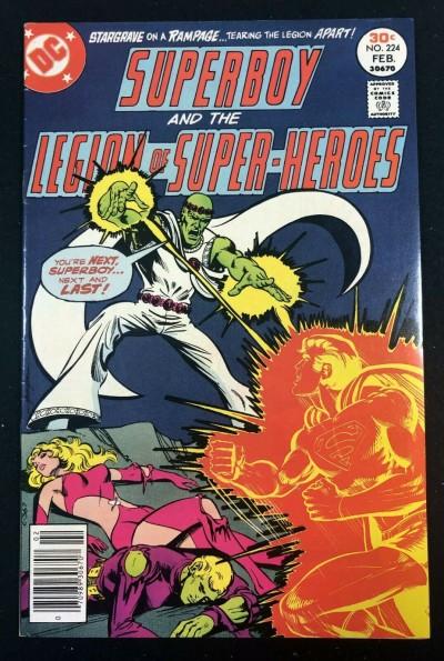 Superboy (1949) #224 VF- (7.5) starring Legion of Super-Heroes