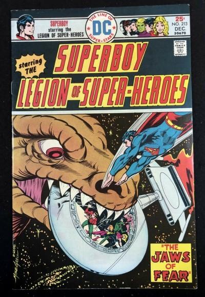 Superboy (1949) #213 FN/VF (7.0) starring Legion of Super-Heroes