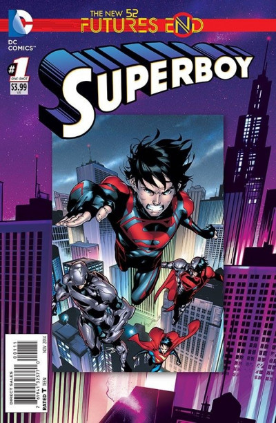 SUPERBOY: FUTURES END (2014) #1 VF/NM - NM 3D LENTICULAR COVER THE NEW 52!