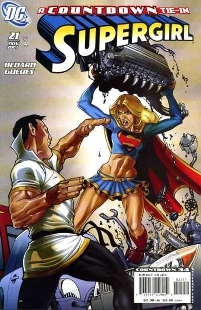 SUPERGIRL (2005) #21 VF-