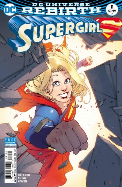 Supergirl (2016) #11 VF/NM Bengal Variant Cover DC Universe