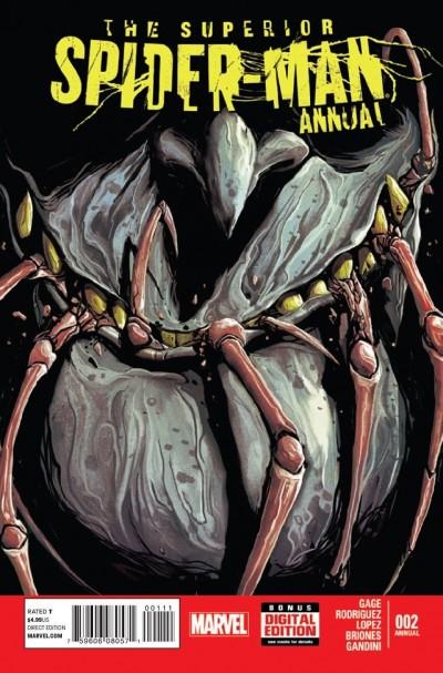 SUPERIOR SPIDER-MAN ANNUAL #2 VF/NM MARVEL NOW!