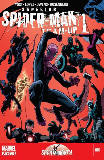 SUPERIOR SPIDER-MAN TEAM-UP #1 VF/NM MARVEL NOW!