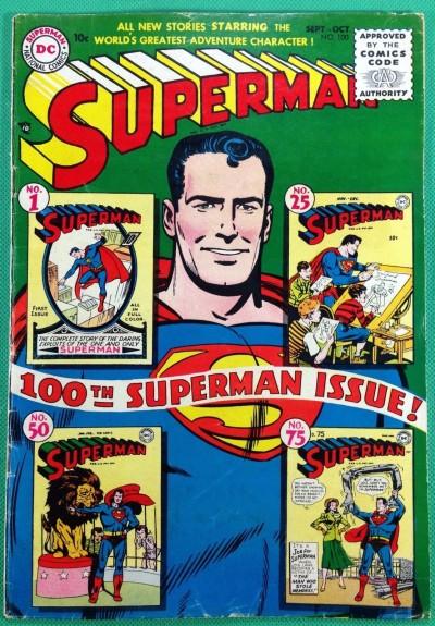 SUPERMAN #100 VG/FN (5.0)