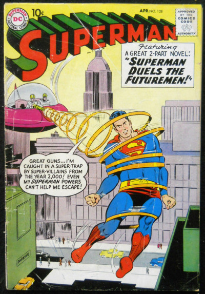 SUPERMAN #128 VG RED KRYPTONITE USED BRUCE WAYNE X-OVER