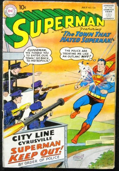 SUPERMAN #130 VG- 2ND APPEARANCE KRYPTO