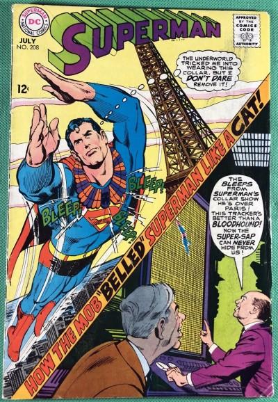 Superman (1939) #208 VG+ (4.5)