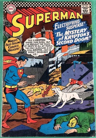 Superman (1939) #189 VG/FN (5.0) original destruction of Krypton II