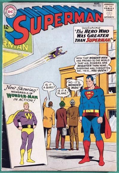 Superman (1939) #163 VG+ (4.5)