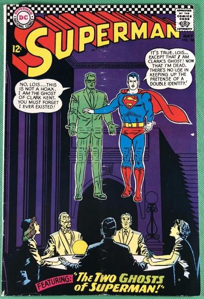 Superman (1939) #186 VG- (3.5)
