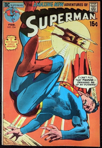 Superman (1939) #234 VF (8.0) Neal Adams cover