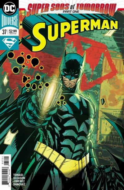 Superman (2016) #37 VF/NM Jonboy Meyers Batman Variant Cover DC Universe