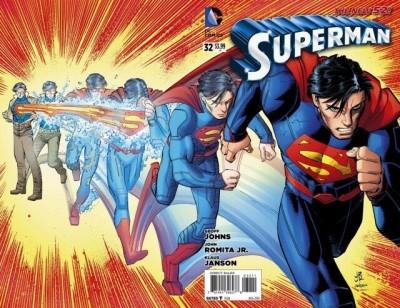 Superman (2011) #32 VF/NM John Romita Jr Wraparound Regular Cover The New 52!