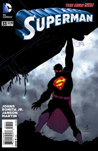 Superman (2011) #33 VF/NM John Romita Jr Regular Cover The New 52!