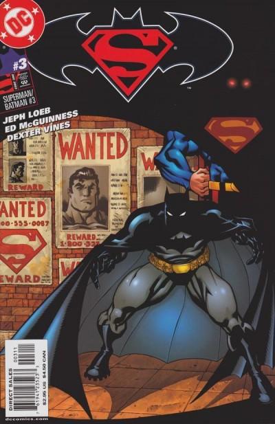 SUPERMAN BATMAN #3 NM JEPH LOEB ED MCGUINNESS