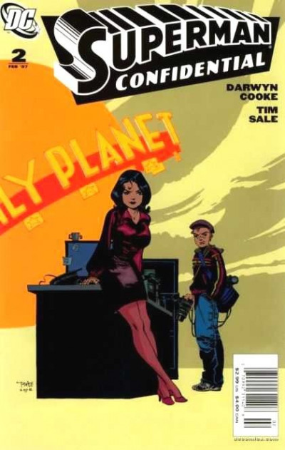 SUPERMAN CONFIDENTIAL #2 NM DARWYN COOKE TIM SALE