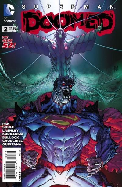 SUPERMAN: DOOMED (2014) #2 VF/NM GREG PAK THE NEW 52!