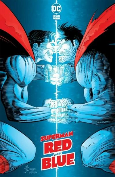 Superman Red and Blue (2021) #4 VF/NM John Romita Jr. Cover