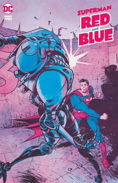 Superman Red and Blue (2021) #3 VF/NM Paul Pope Cover