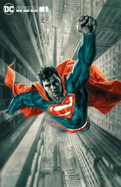 Superman Red and Blue (2021) #1 VF/NM Bermejo Variant Cover