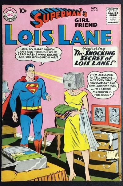 Superman's Girlfriend Lois Lane (1958) #13 VG (4.0)