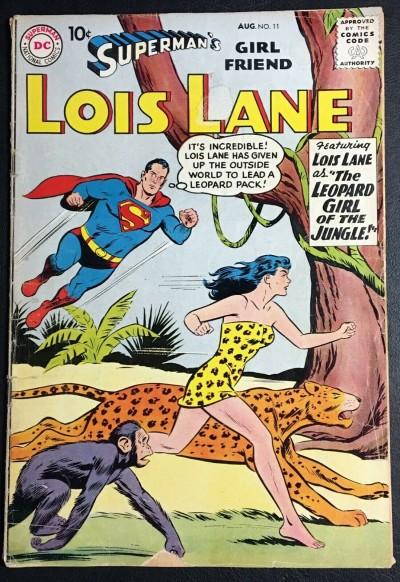 Superman's Girlfriend Lois Lane (1958) #11 GD (2.0)