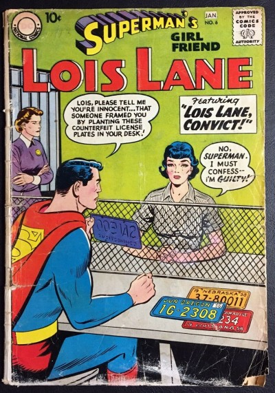 Superman's Girlfriend Lois Lane (1958) #6 FR/GD (1.5)