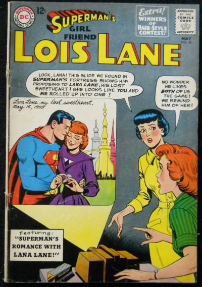 SUPERMAN'S GIRLFRIEND LOIS LANE #41 VG/FN