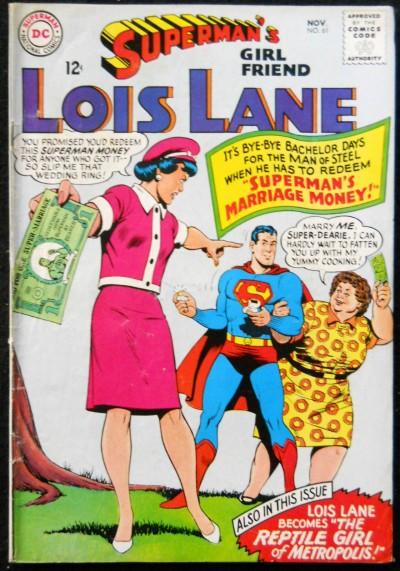 SUPERMAN'S GIRLFRIEND LOIS LANE #61 VG/FN