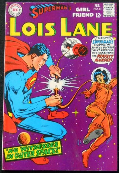 SUPERMAN'S GIRLFRIEND LOIS LANE #'s 81, 84, 85, 88, 90, 91, 92 LOT OF 7 BOOKS