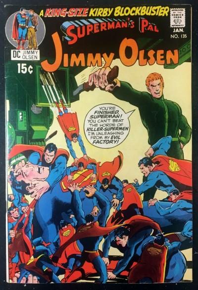 Superman's Pal Jimmy Olsen (1954) #135 FN/VF (7.0) 2nd app Darkseid