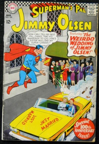 SUPERMAN'S PAL JIMMY OLSEN #100 VG LEGION CAMEO
