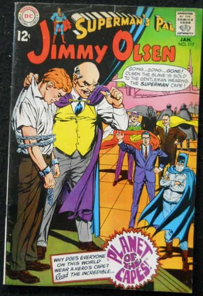 SUPERMAN'S PAL JIMMY OLSEN #117 VG+ NEAL ADAMS COVER