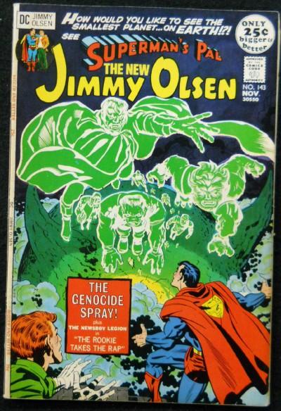 SUPERMAN'S PAL JIMMY OLSEN #143 FN/VF JACK KIRBY NEAL ADAMS
